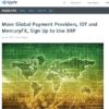 リップルがIDT CorporationとMercuryFXと提携